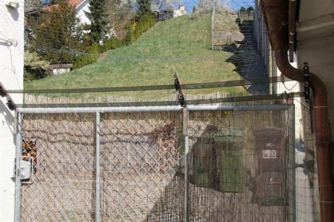 Zaun beim Tor
